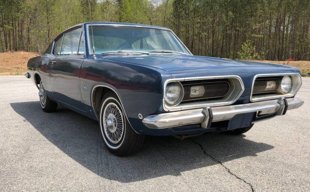 Perfect First Project: 1968 Plymouth Barracuda Fastback