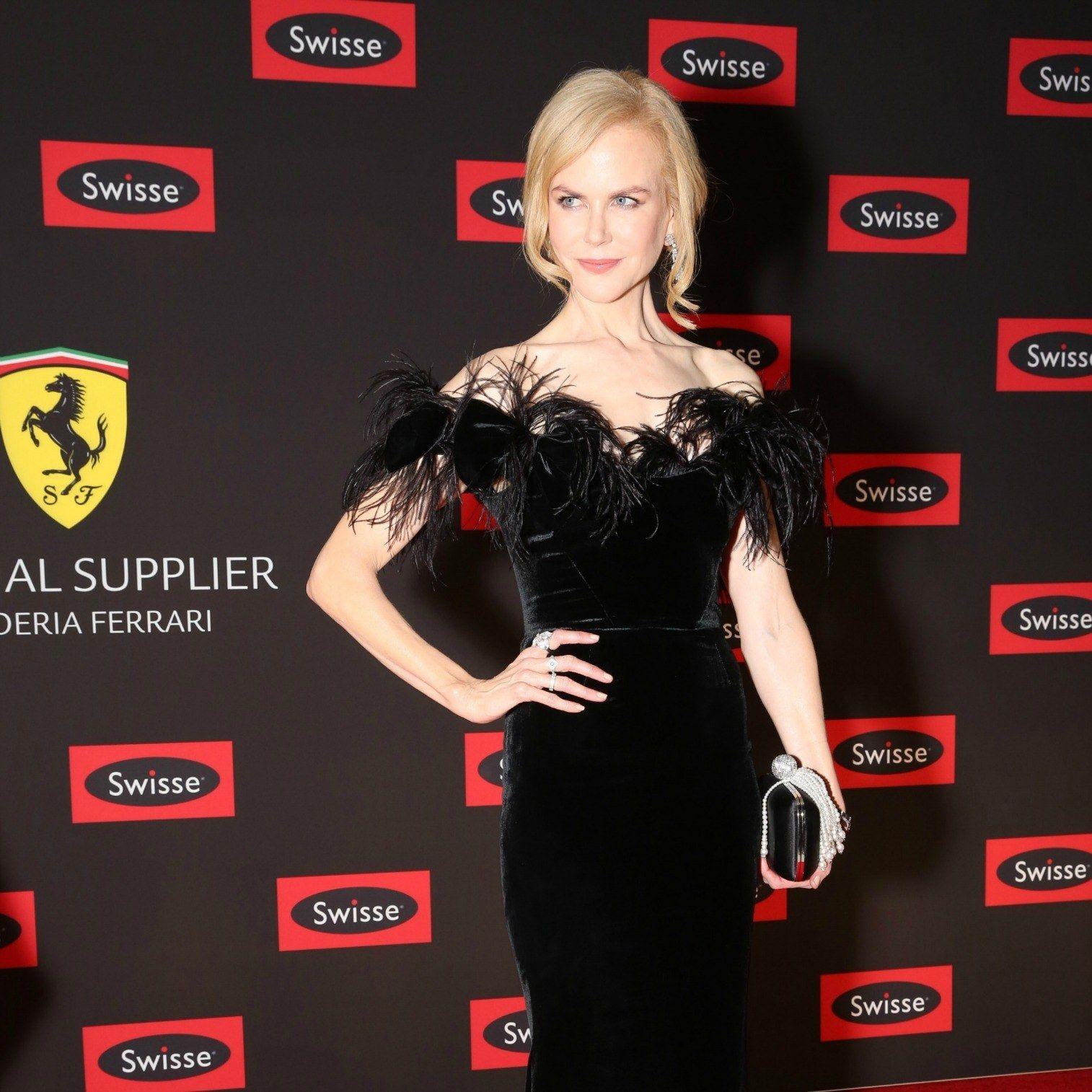 Nicole Kidman Proves That The New Little Black Dress Is Anything But Basic Nice Dresses Fashion Little Black Dress [ 1514 x 1514 Pixel ]