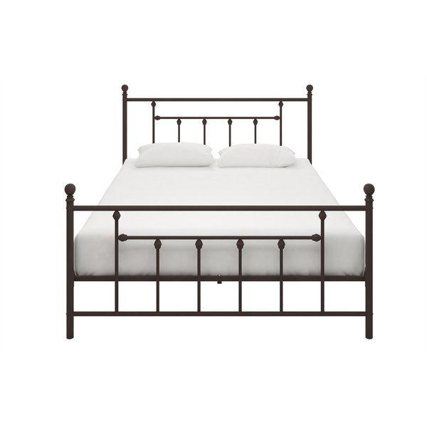Lyster Platform Bed Metal Beds Upholstered Platform Bed