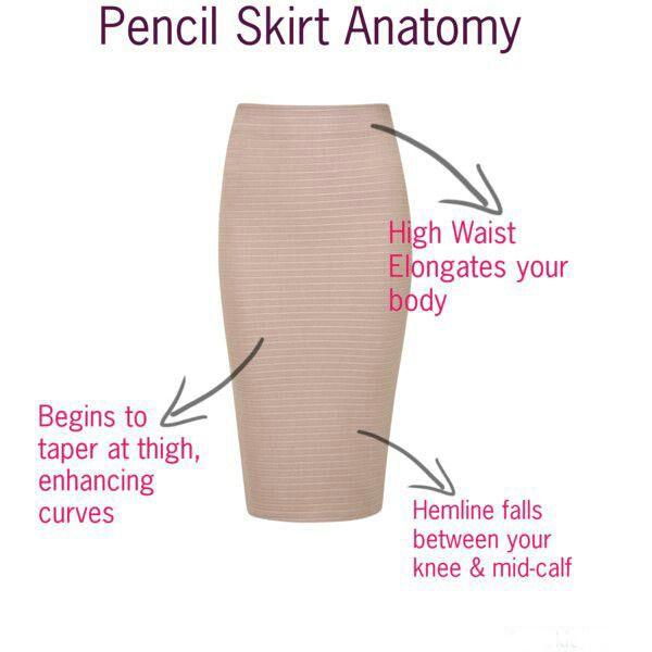Anatomy of a Pencil Skirt