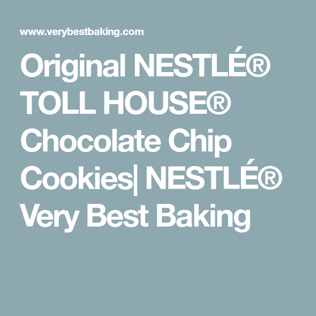 Nestle Chocolate Chip Cookie Recipe High Altitude