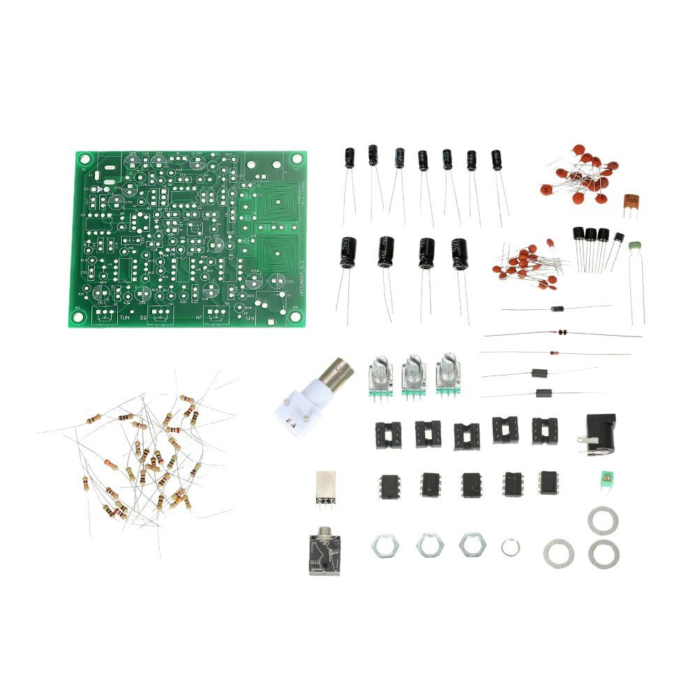 Airband Radio Receiver Diy Kit Aviation Band With High Transmitter Fm 45w Valve Sensitivity