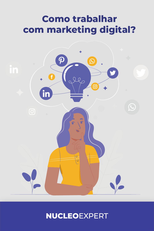 Como Trabalhar com Marketing Digital: 08 Melhores Formas
