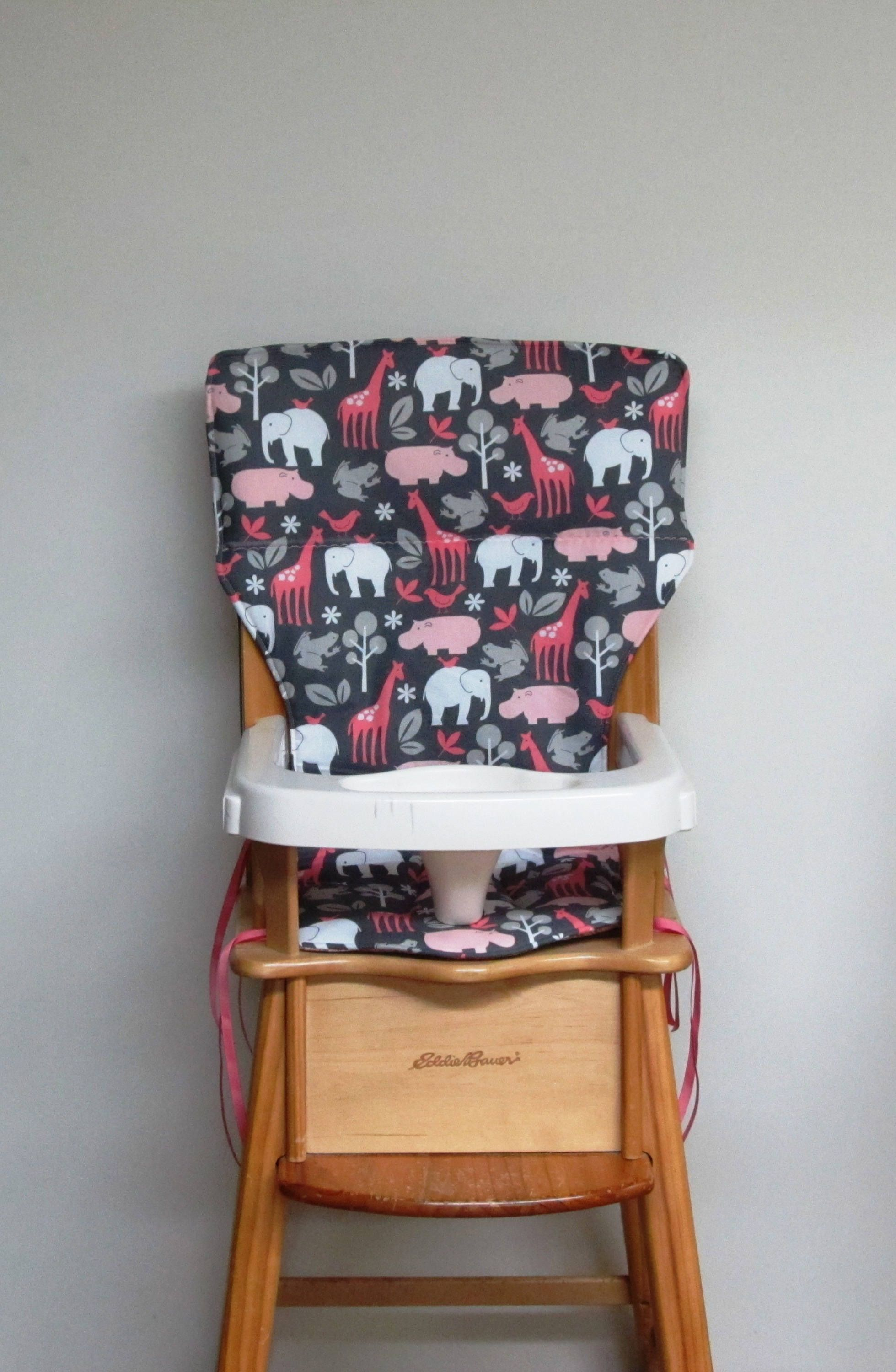 Eddie Bauer Replacement Highchair Cover, Childrens Chair Pad, Kids Furniture,  Baby Accessory Care