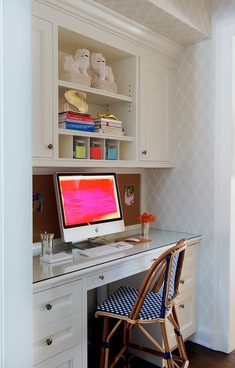kitchen desk desks offices and craft rooms pinterest kitchen
