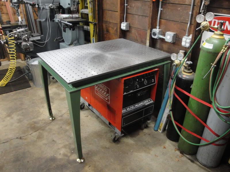 Yet Another Welding Table Thread Garage In 2019