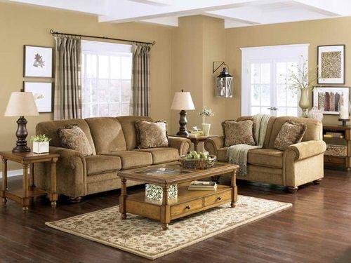 Преимущества традиционной мебели для гостиной