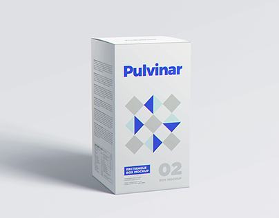 Download Check Out This Behance Project Box Packaging Mockup Rectangle Https Www Behance Net Gallery 43615841 Box Mockup Medicine Box Design Packaging Mockup