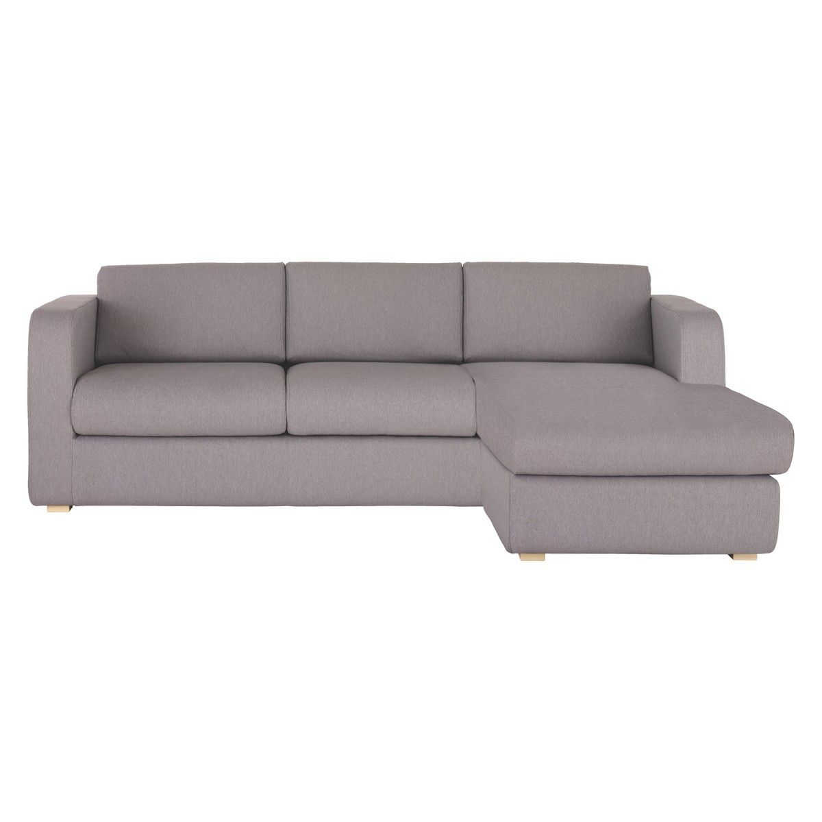 Porto Grey Fabric Reversible Chaise Sofa Bed Chaise Sofa Sofa