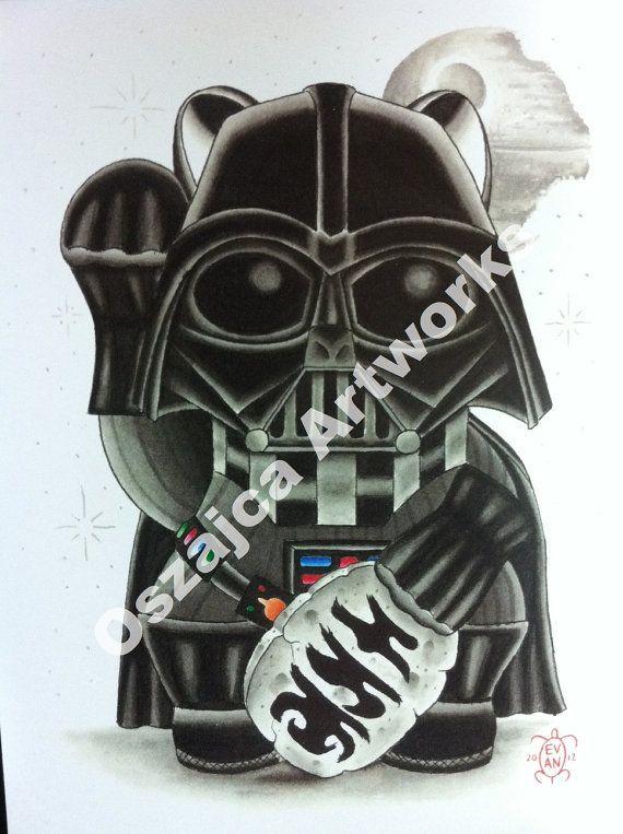 Darth Vader Maneki Neko