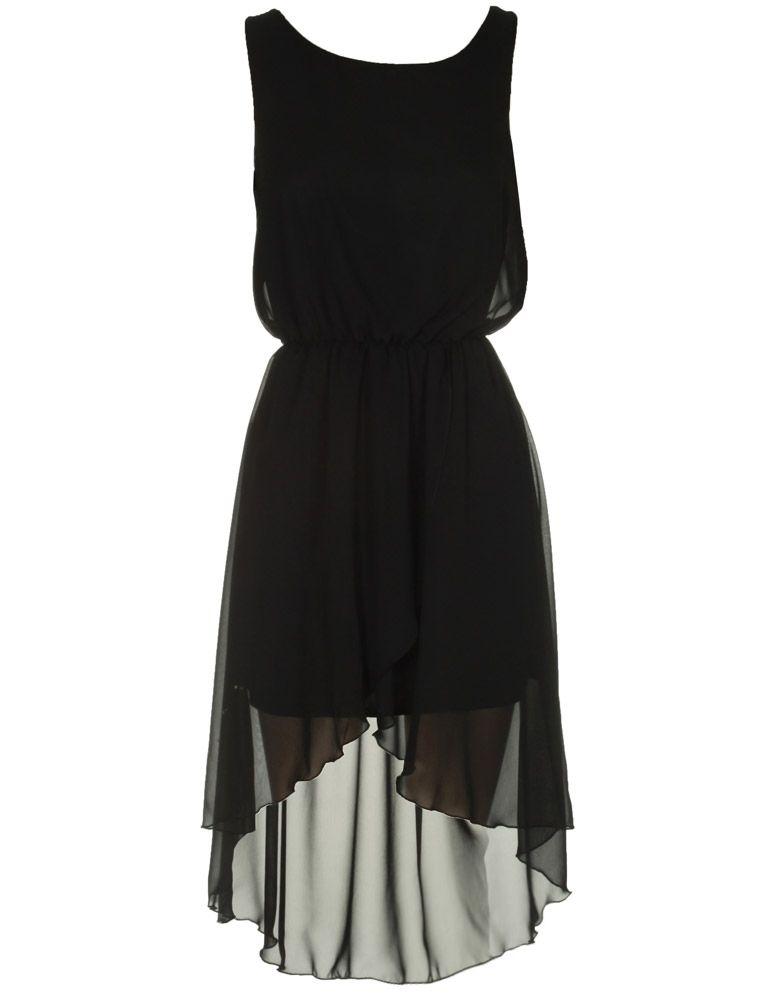 high low dresses | ... are here: Chiara Fashion DRESSES Black ...