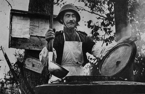 A field cook of the Red Army, c. 1943 I think he'd be a