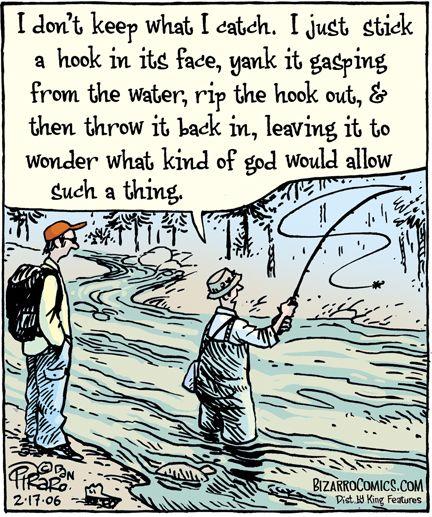 Bizarro Comics Bizarro Comic Fishing Quotes Funny Fishing Jokes