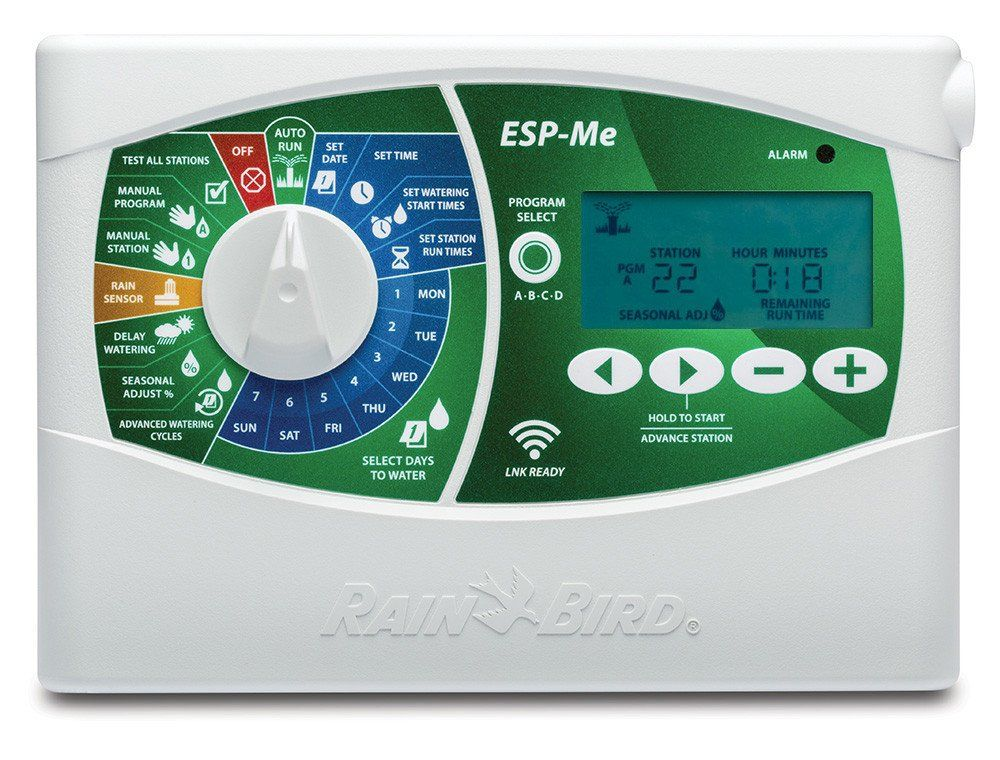 Weathermatic Sl800 with 6 Zones and Slw1 Wired Weather Station