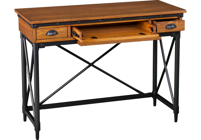 Lamphere Antique Oak Desk - Desks Dark Wood  Oak desk, Antique