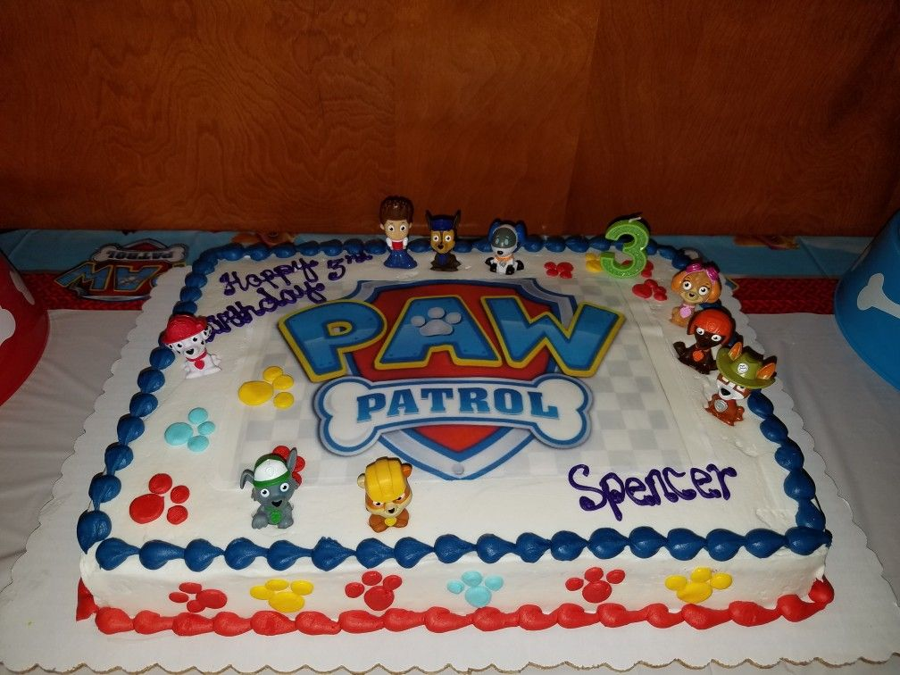 Paw Patrol Cake Paw Patrol Birthday Cake Paw Patrol Cake