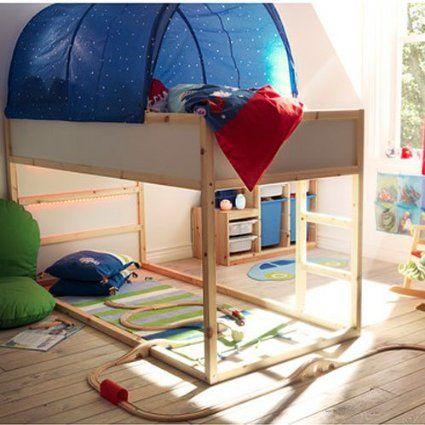 1 Blue Ikea Kura Bed Tent Canopies