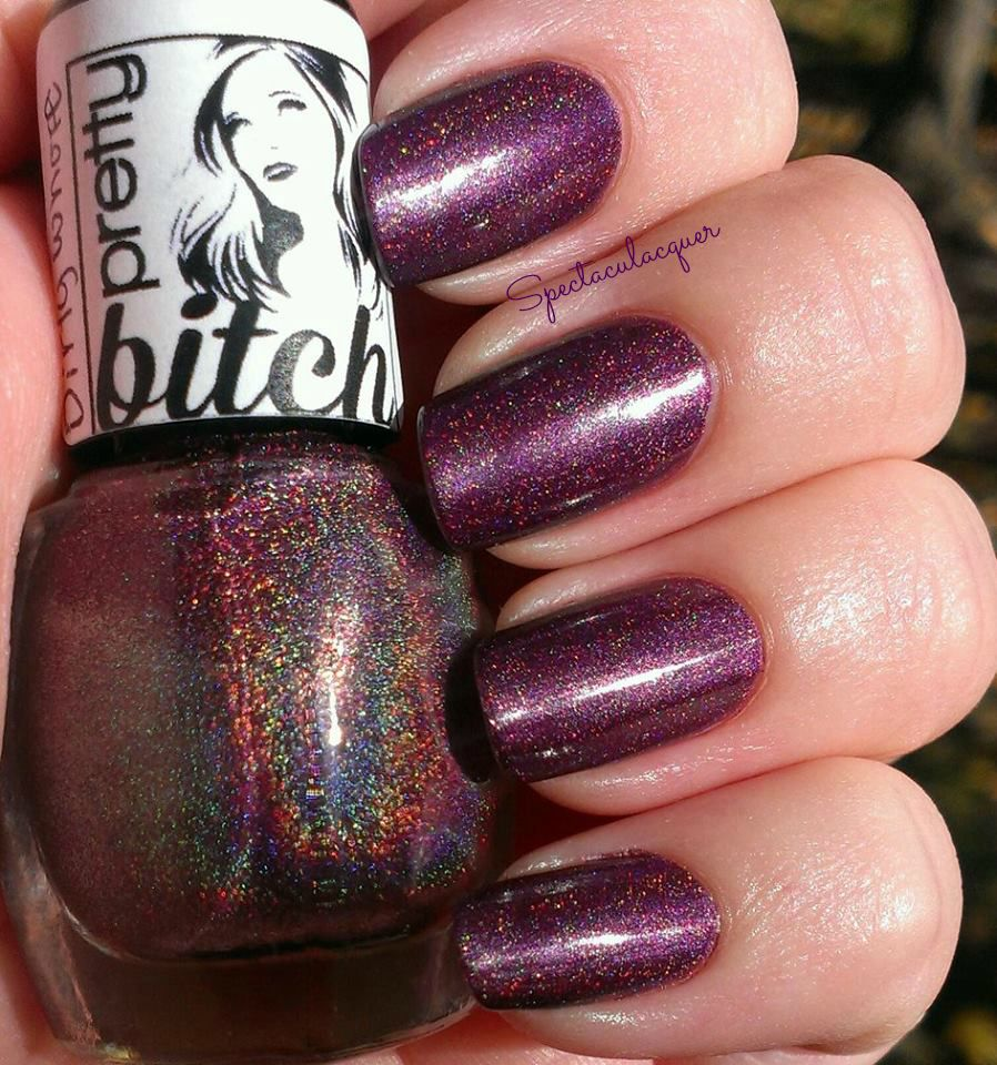 "Pretty Bitch Polish ""Dirty Whore"" <3"