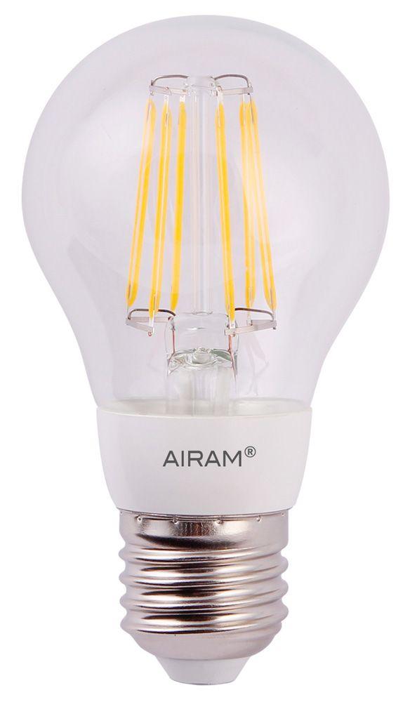 Airam Decor LED Vakiokupu filament, kirkas