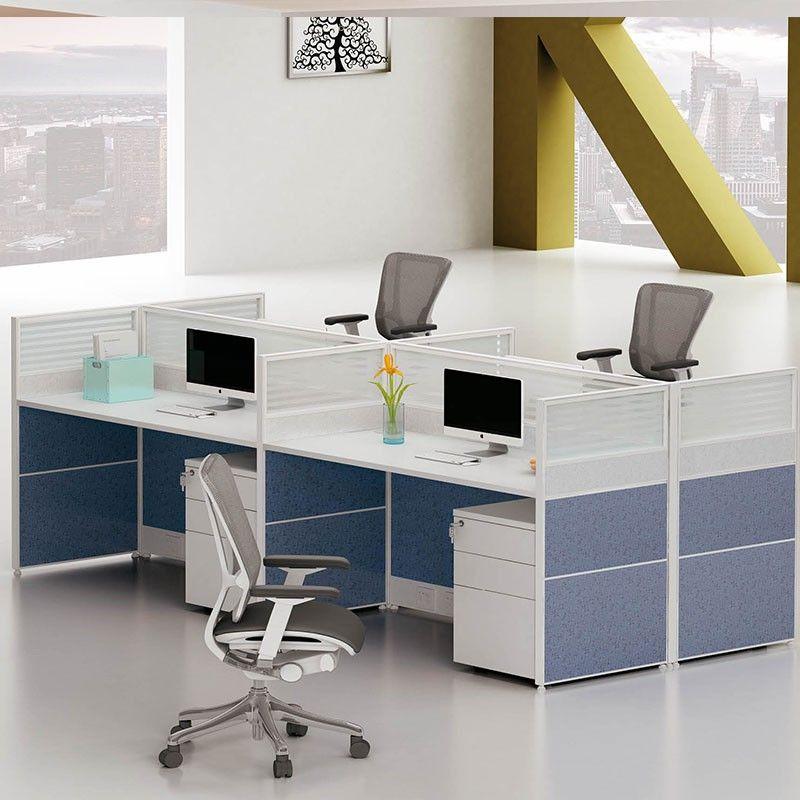 Por Elegant Design Office Furniture China Sound Proof Cubicles Cubicle Workstation Real Estate