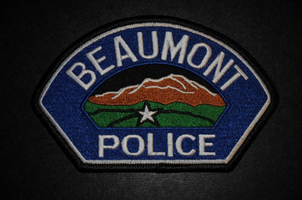 Beaumont Police Patch Riverside County California Police Patches Police Police Badge
