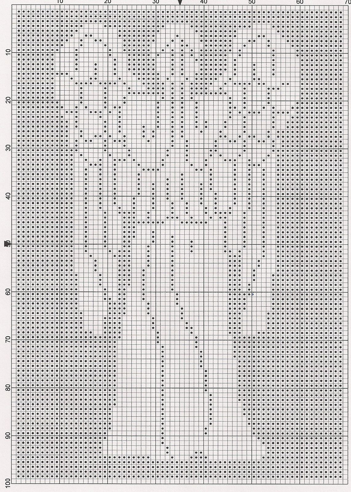 Ravelry: Dr. Who Weeping Angel Chart pattern by Elizabeth Harac ...
