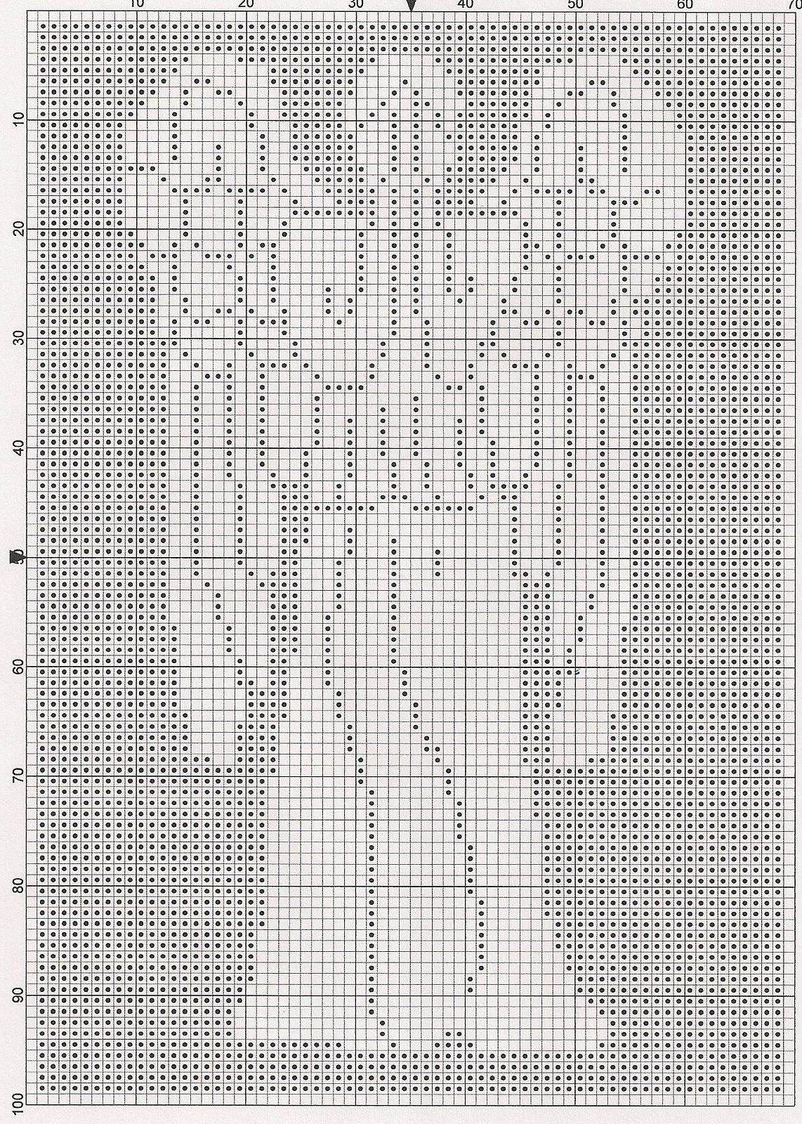 Dr. Who Weeping Angel Chart pattern by Elizabeth Harac | Filet ...