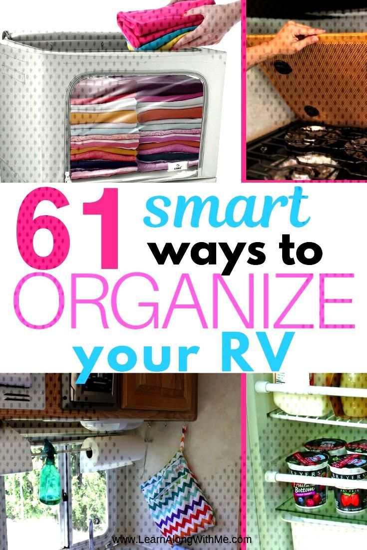 61 Smart RV Storage Ideas you can use to organize your RV Big list of RV Storage ideas to help you