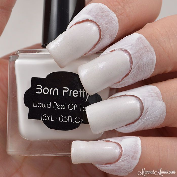 Born Pretty 15ml Peel Off Liquid Tape Nail Palisade Nail Art Latex ...