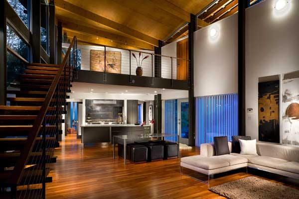 Strickland / Ferris Residence; Frank Harmon, Raleigh NC