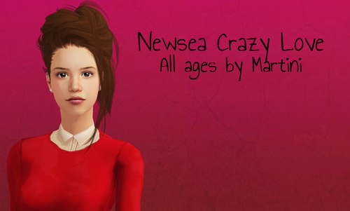 Newsea Crazy Love - grey linked to black   Hair