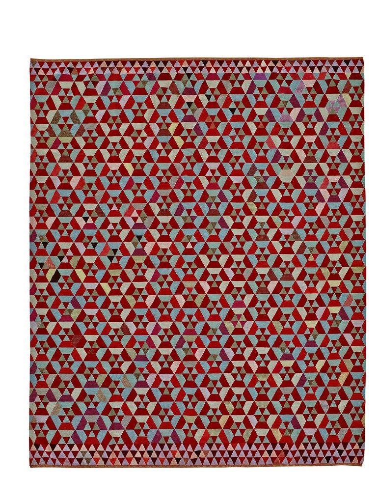 Handmade rug HEX HEX - ROSET ITALIA