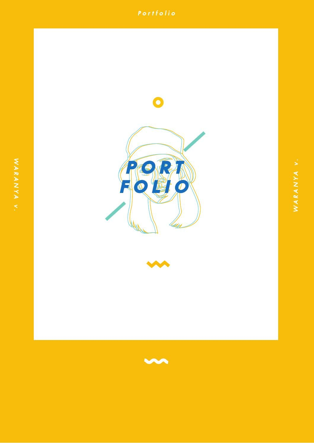 portfolio    wwryn graphic design school of fine and applied arts bangkok university