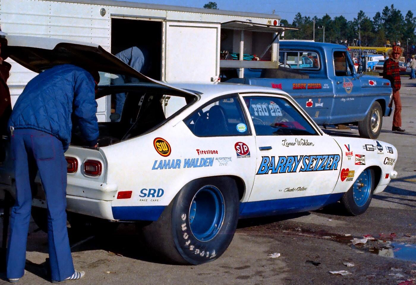 Vintage Drag Racing - Pro Stock - Chevy Vega - Barry Setzer | Vega n ...