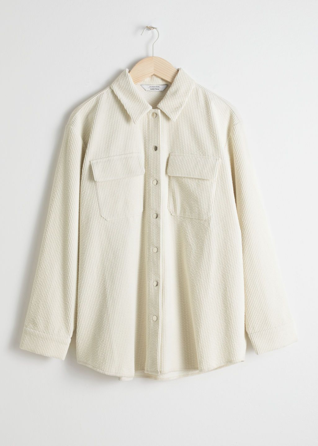 a0773d674465 Front image of Stories in beige Cream Shirt, Shirt Blouses, Shirts, Pretty  Outfits