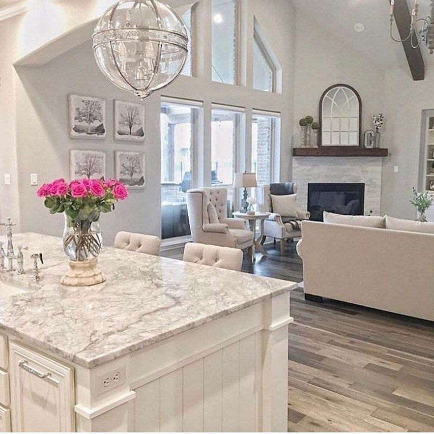 65 Best White Kitchen Design Ideas For White Cabinets 65 Interior Design White Kitchen Design Home Decor Kitchen Sweet Home