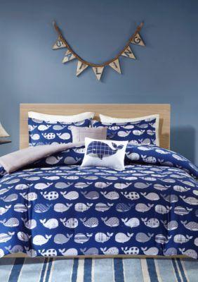 Urban Habitat Kids Moby Whale Comforter Set | usc dorm room