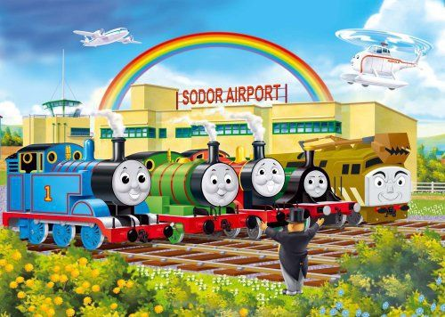 New Anime Thomas And His Friends Wooden Trains Model