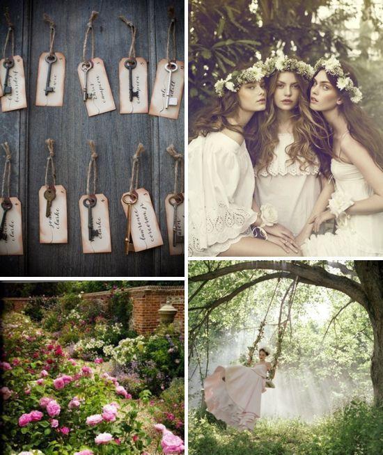 Secret Garden Theme: A Secret Garden Wedding Wedding Inspiration
