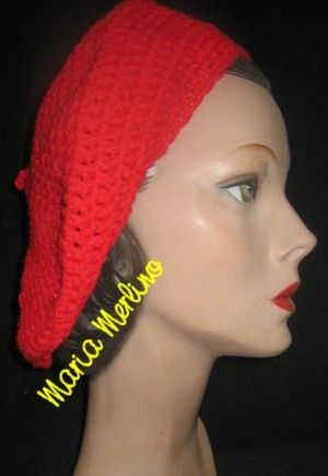 30 Slouchy Beanie Beret Tam Cap Hat Free Crochet Patterns Yahoo