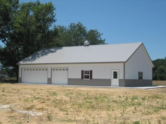 40 60 10 W 6 12 Roof 1 Overhang Pole Barn House Plans Barn