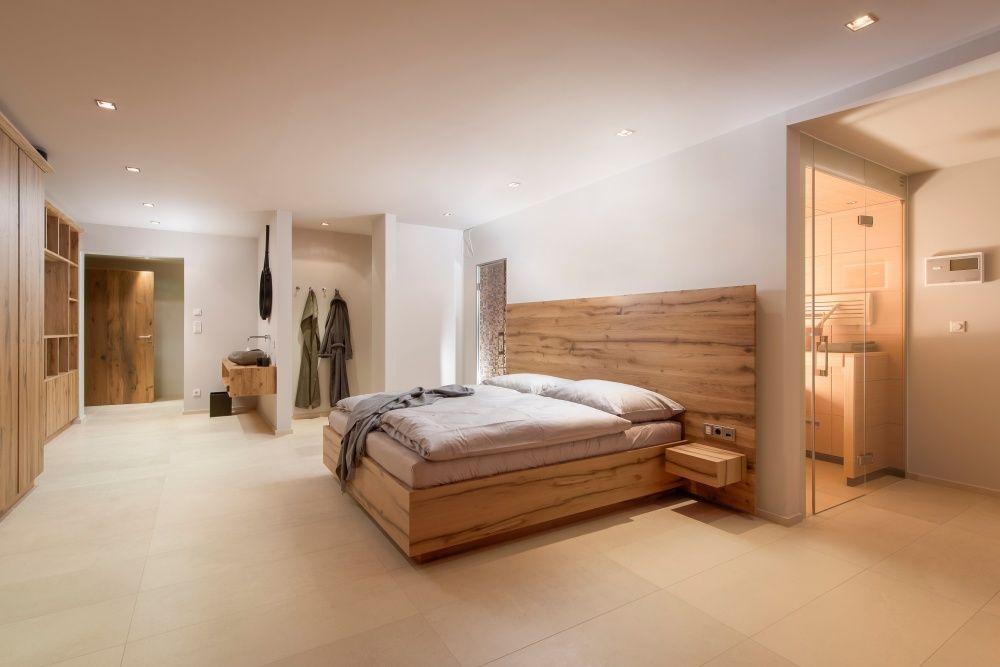 Ein design schlafzimmer im alpenstil das w re ein traum dazu noch eine sauna und eine - Alpen dekoration ...