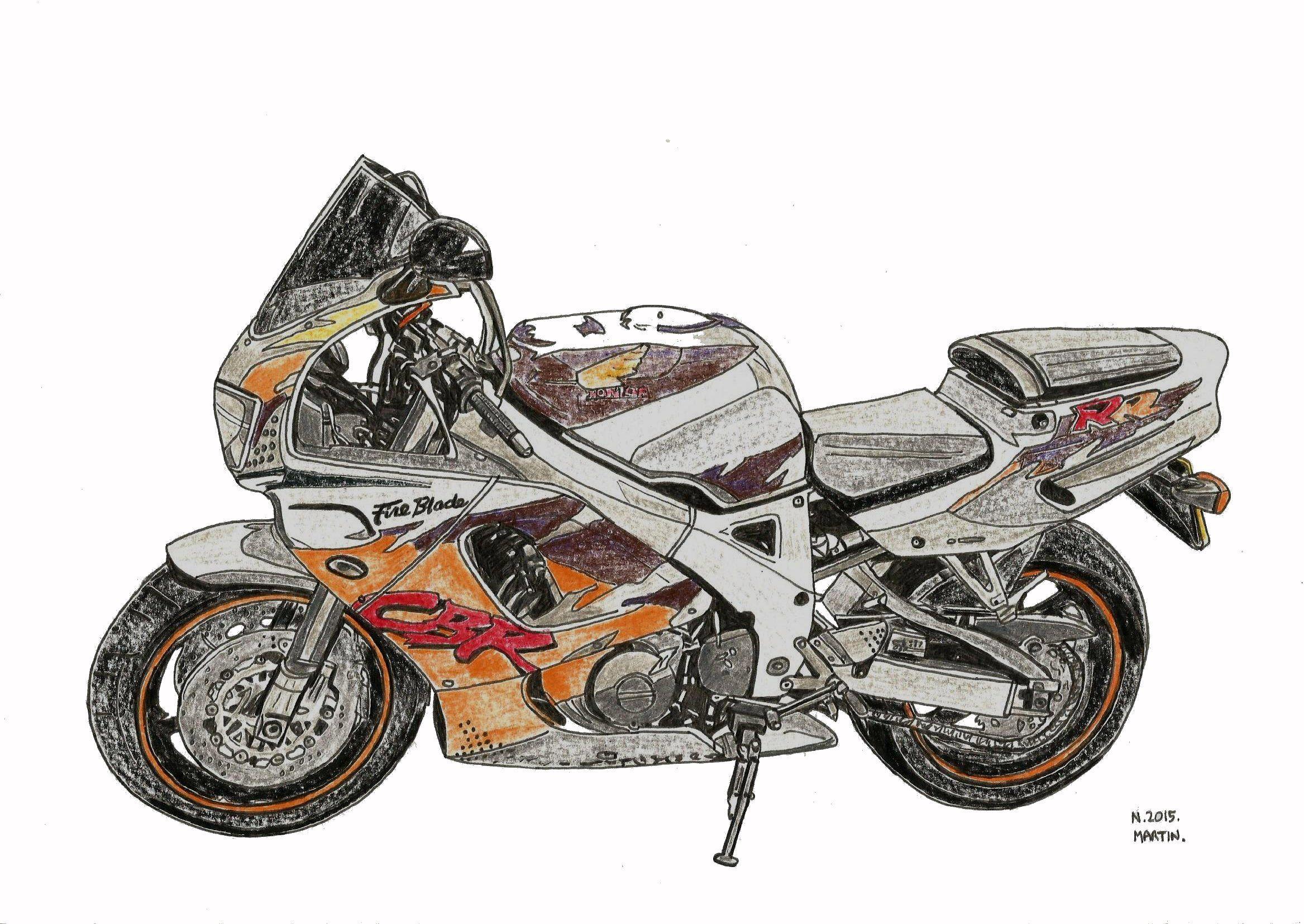 My Honda Fireblade \