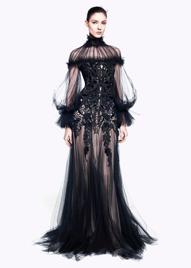 Fairytale Witch! Alexander McQueen Pre-Fall 2012
