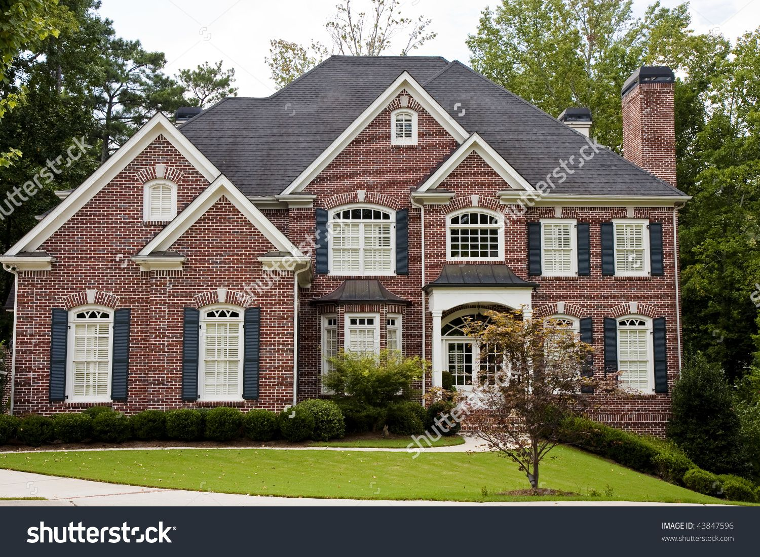 Two story brick house google search architecture for 2 story brick house plans