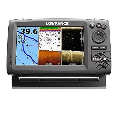 Lowrance Fish Finders Depth Finders 000-12664-002 Navico Hook 7 with Card amp;