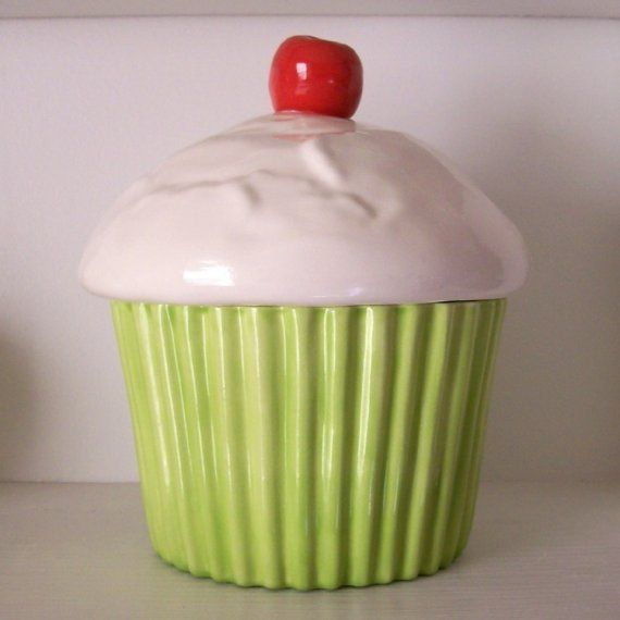 Cupcake Canisters For Kitchen: Pin By Joan Shute On Things For A Cupcake Kitchen