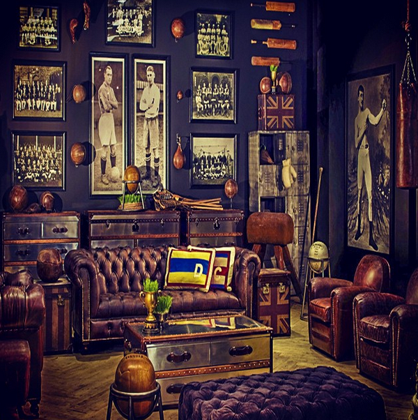 Inspiration De Chambre Invite Mur Sombre Vintage Room Gentlemans Lounge Hidden Rooms