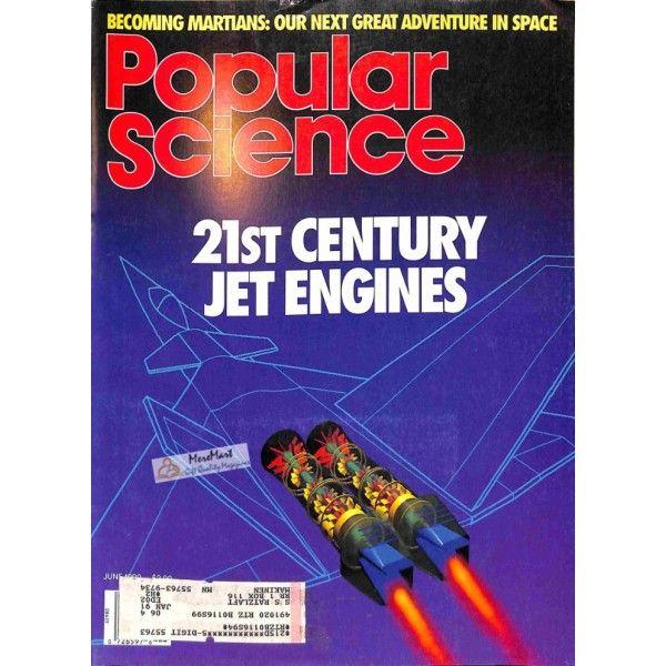 Cover Print of Popular Science, June 1990 | $6.60