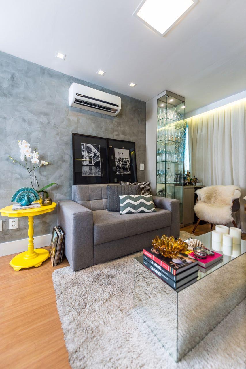 Decoraç u00e3o de apartamento de 50m2 super compacto mais muito bem aproveitado nail passion  -> Curso Tecnico Em Decoração De Ambientes